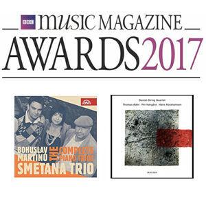 Smetana Trio, Danish String Quartet Nominated for 2017 BBC