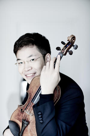 Paul Huang showed romantic style and an affinity for Franck in his recital April 17 at the Phillips Collection.