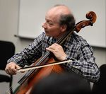 Clive Greensmith leads a cello master class at the Sarasota Music Festival