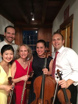 The Jasper Quartet with Eugenia Zukerman
