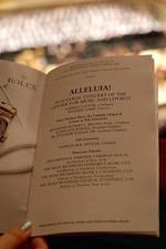 Program from Alleluia! / Mass of the Divine Shepherd at Carnegie Hall