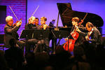 The Complete Aspen Music Festival and School (abridged) From left, David Halen, Robert Spano, William Hagen, Benjamin Lash and Masao Kawasaki, at SubCulture.