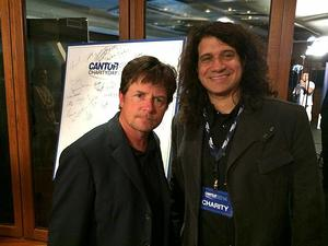 Alexander with Michael J.Fox