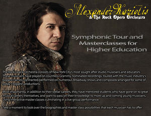 Alexander Kariotis Symphonic Tour and Master Classes