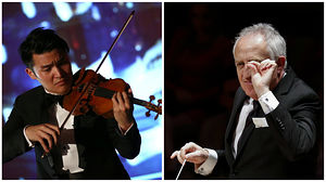 Ray Chen (violin) and Bramwell Tovey.