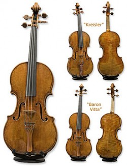 Photos of the Twin Violins
