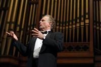 Opera star Stephen West performs Sunday at Trinity United Methodist Church the first of many events this year to celebrate the church's 150th birthday.<br />