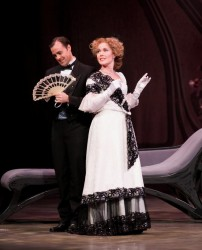 "Heather Buck (shown with Philip Cutlip) plays Valencienne in the Florentine Opera Company's production of ""The Merry Widow"" in November 2007. She returns Friday through Sunday for the Florentine's production of Mozart's ""The Magic Flute."""