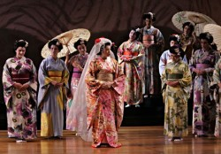 Kelly Kaduce in the title role of the Opera Theatre of Saint Louis' production of 'Madame Butterfly.'