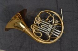 Descant Horn by Walter Lawson