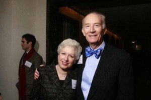 Edna with Sedgwick Clark, editor of Musical America International Directory