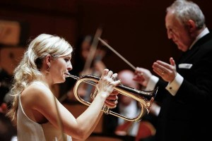 Alison Balsom and Bramwell Tovey with the LA Phil