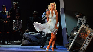 Soprano Tanja Ruždjak as a Marilyn-Monroe Princess in Croatian National Opera of Zagreb's LOVE FOR THREE ORANGES
