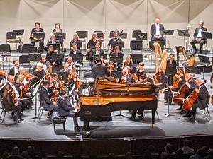 York Symphony, Music Director Lawrence Golan and guest pianist, Cliburn Gold Medal winner Yekwon Sunwoo, Ravel's Piano Concert in G.