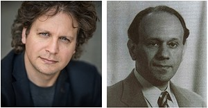 Daniel Wnukowski, pianist (left); Karol Rathaus, composer (right).