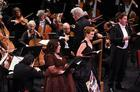 Pinchas Zukerman conducts Arianna Zukerman, Wallis Giunta, Gordon Gietz as they sing Beethoven Symphony No. 9 with the National Arts Centre Orchestra
