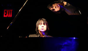 "Taka Kigawa at Le Poisson Rouge in a program that included the two books of Debussy's ""Images"" and Tristan Murail's ""Territoires de l'Oubli."""