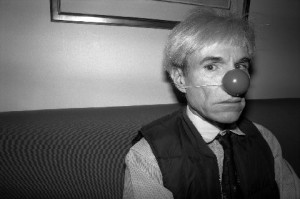 Andy Warhol at the Hotel Bauer Lac, Zurich, Switzerland during Lent