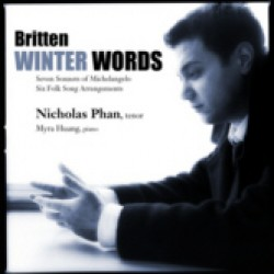 Winter Words: Songs by Benjamin Britten