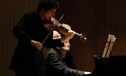 Augustin Hadelich and Charles Owen: Mr. Hadelich, on violin, and Mr. Owen performed at the Frick Collection's Music Room on Sunday.