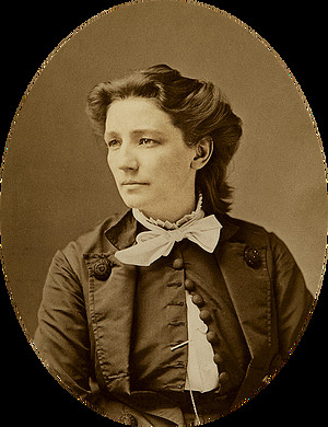 Victoria Woodhull photo by Matthew Brady