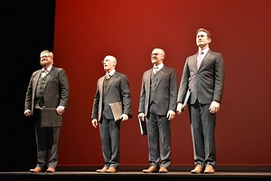 New York Polyphony at Hudson Hall