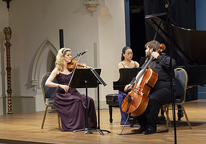 The Neave Trio at Saint James Place, Great Barrington, MA