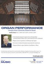 Organ Studies at GSU
