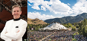Left: Music Director Alasdair Neale.