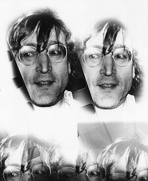 John Lennon 1980 collage